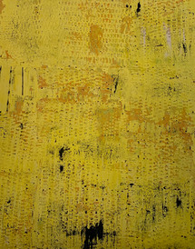 Stargardt Holes II, oil on canvas 120cm x100cm