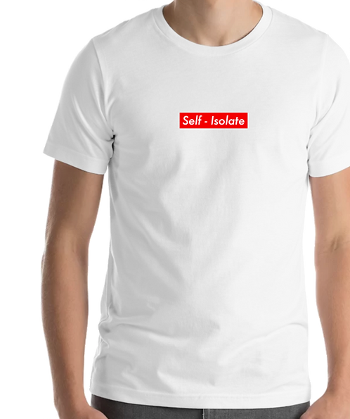 Self-Isolate Tee White