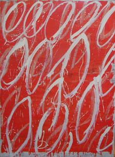 Naked Stargardt's III, oil on canvas 180cm120cm