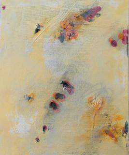 In my garden I, oil on canvas 30cmx25cm