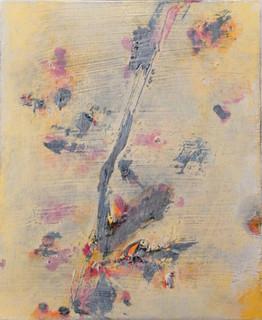 In my garden II, oil on canvas 30cmx25cm