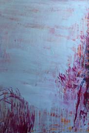 Pine Tree III, oil on canvas, 120cmx90cm