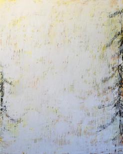 Pine Tree I, oil on canvas, 152cmx120cm