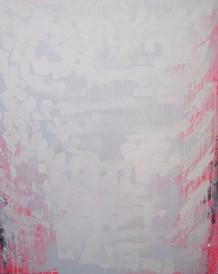 Pine Tree VII, oil on canvas 122cmx90cm