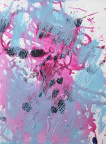 In my garden IV, oil on canvas 40cmx30cm