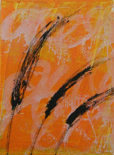 Purple fountain grass IV, oil on canvas  40cmx30cm