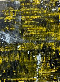 Stargardt Holes IV, oil on canvas 120 x 90 cm