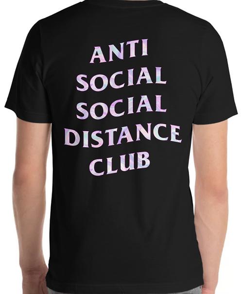 Social Distance Tee Black/Multicolor
