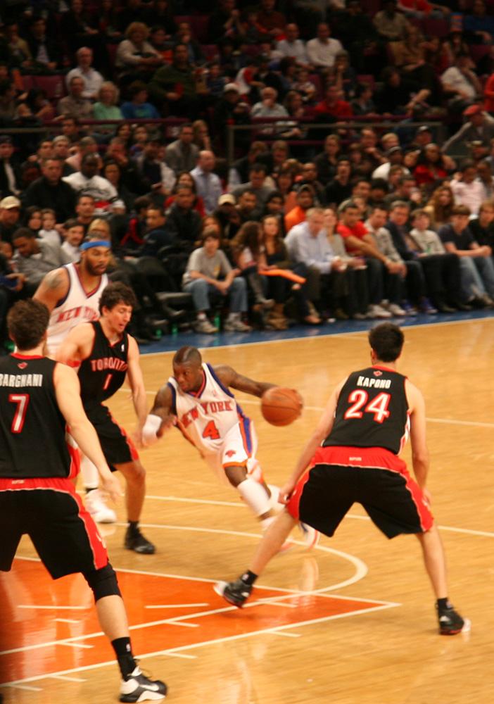 NY Knicks Toronto Raptors