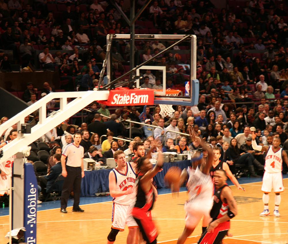 NY Knicks vs. Toronto Raptors