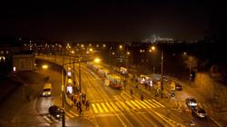 Warsaw - by night