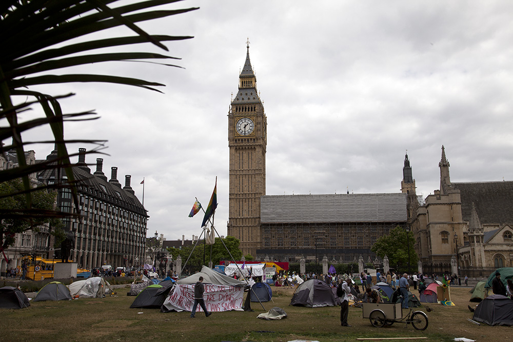 Parliament Square Peace Protest