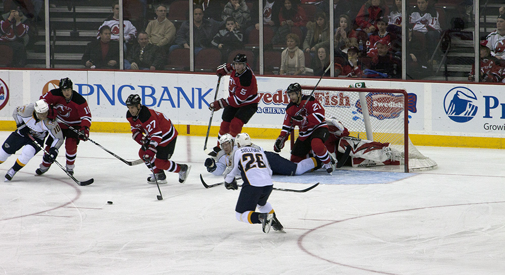 New Jersey Devils Nashville Predators