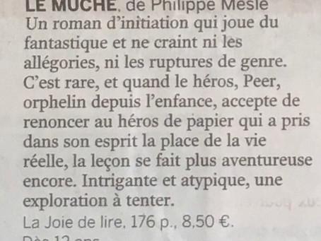 Article de Philippe-Jean Catinchi (rédacteur culture du Monde).