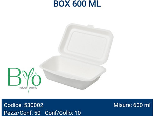 BOX 600 ML in cellulosa PZ.50