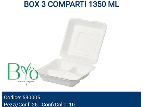 BOX 3 COMPARTI 1350 ML bio PZ.25