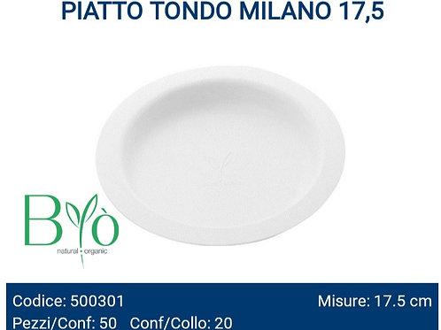 Piatto Tondo bio Milano 17,5 PZ.50