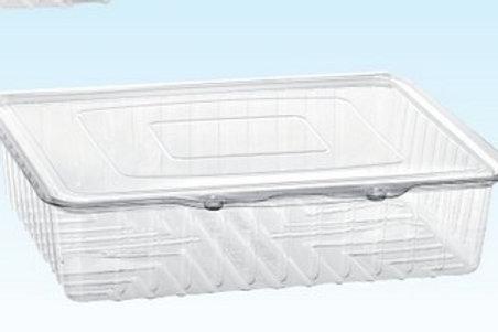 Vaschetta rettangolare H50 in pet da 160pz