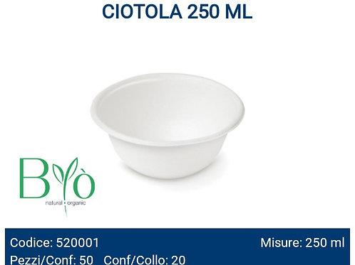 CIOTOLA BIO 250ML PZ.50