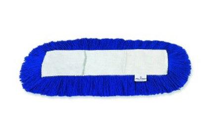 Frangia In Acrilico Blu Con Tasche