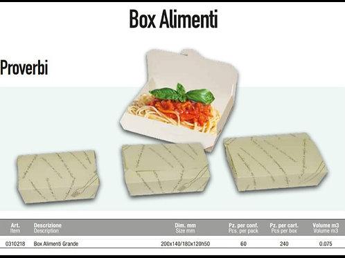 Box Alimenti Proverbi 20x14/18x12h5 PZ.60