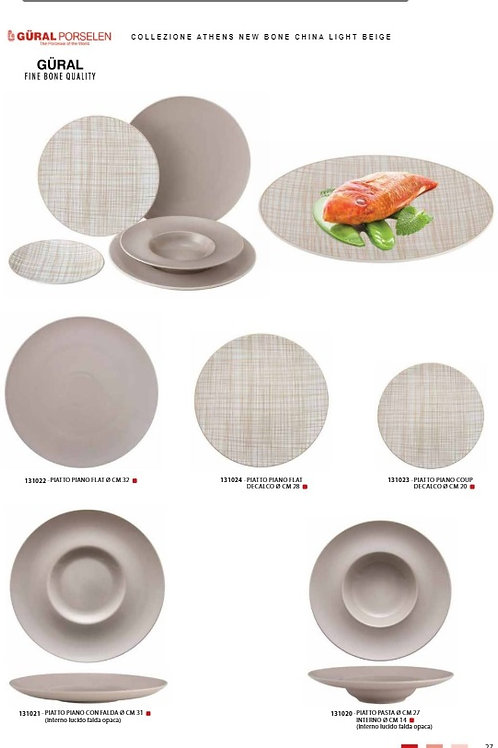 COLLEZIONE ATHENS NEW BONE CHINA LIGHT BEIGE
