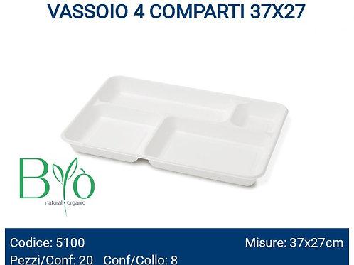 VASSOIO 4 COMPARTI 37X27 PZ.20