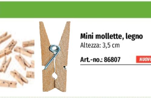MINI MOLLETTE LEGNO PZ.100