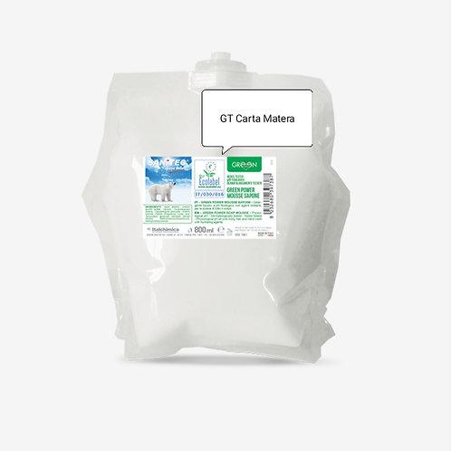 GREEN POWER Mousse di sapone 800 ml