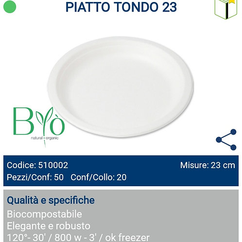 PIATTO TONDO 23 PZ.50