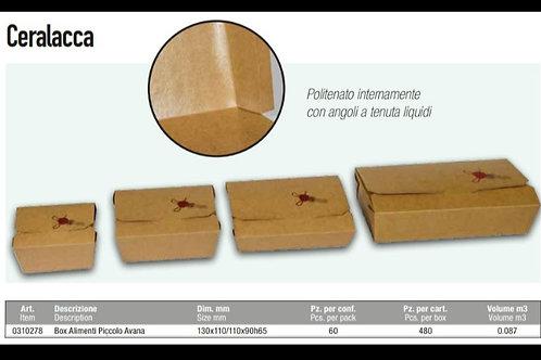 BOX ALIMENTI PICCOLO 13X110X90X65H PZ.60