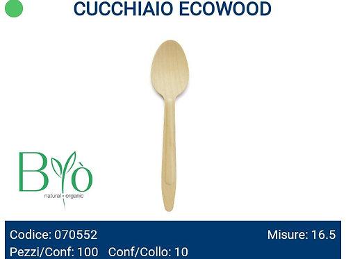CUCCHIAIO IN LEGNO ECOWOOD PZ.100