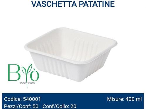 VASCHETTA PATATINE in cellulosa PZ.50