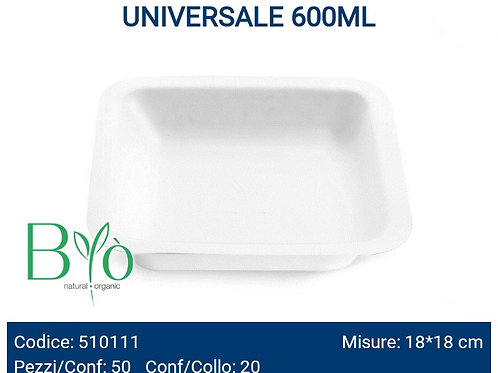 Contenitore universale bio 600ml 50pz