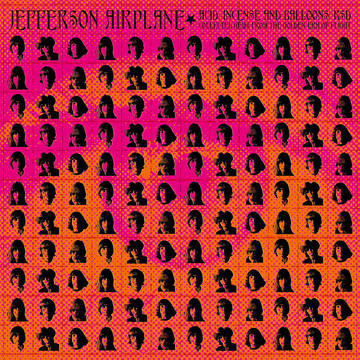 """Jefferson Airplane """"Acid, Incense and Balloons: RSD-Collected Gems From Gold"""""""