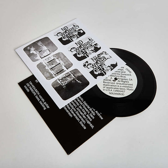 "Rise Against ""Nowhere Generation"" 7"" Vinyl"