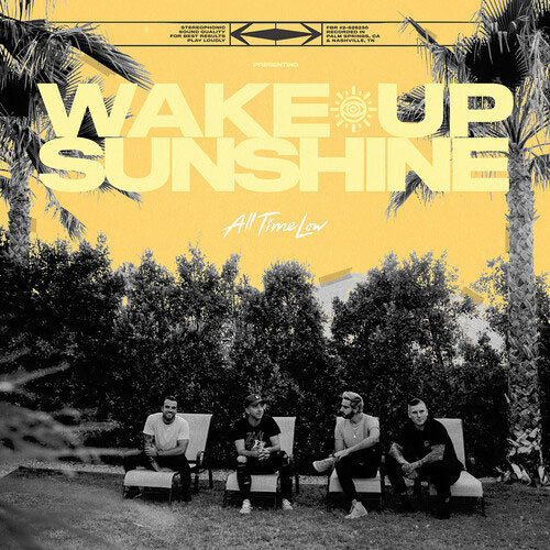 "All Time Low ""Wake Up, Sunshine"" LP Vinyl"