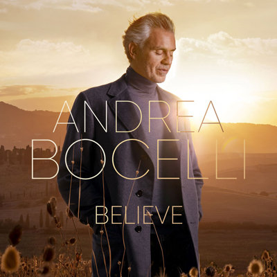 """Andrea Bocelli """"Believe"""" CD and AUTOGRAPHED BOOKLET"""
