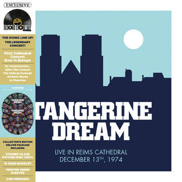 """Tangerine Dream """"Live At The Reims Cathedral"""""""