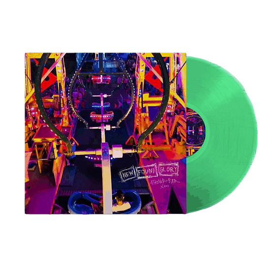 "New Found Glory ""Forever & Ever X Infinity"" Green Vinyl LP"