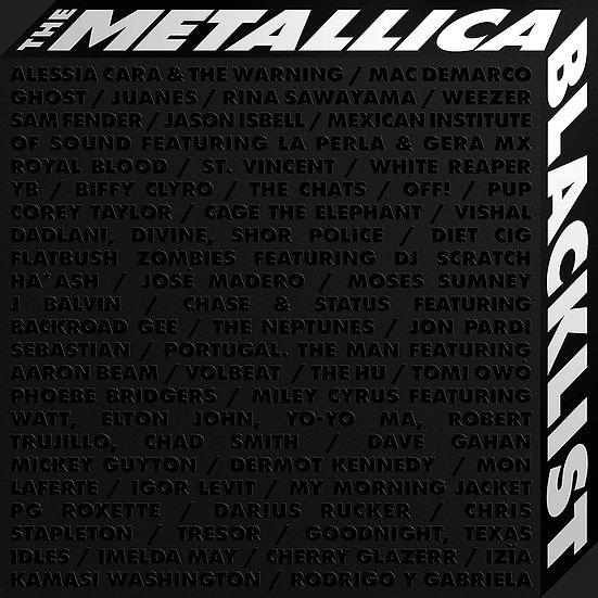 "Metallica & Various Artists ""The Blacklist"" 4CD"