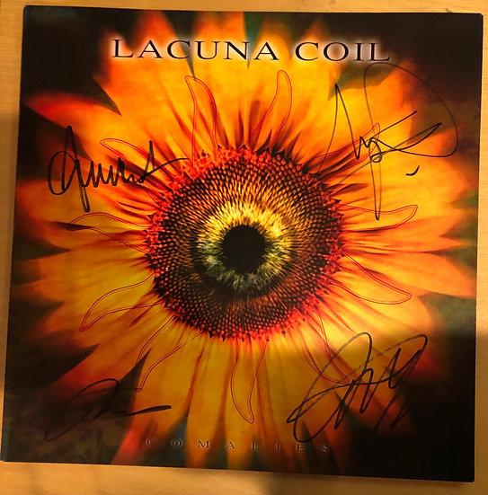 "AUTOGRAPHED: Lacuna Coil ""Comalies"" Poster"