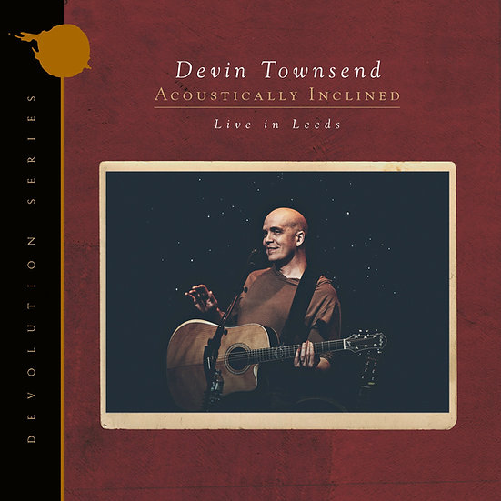 """Devin Townsend """"Devolution Series #1 - Acoustically Inclined, Live In Leeds"""""""