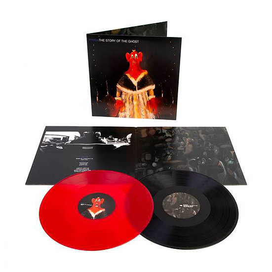 "PHISH ""STORY OF THE GHOST"" LIMITED EDITION 2 LP BLACK AND RED  VINYL"