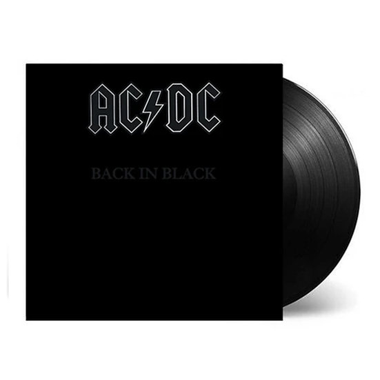 "AC/DC ""Back In Black"" Vinyl LP"