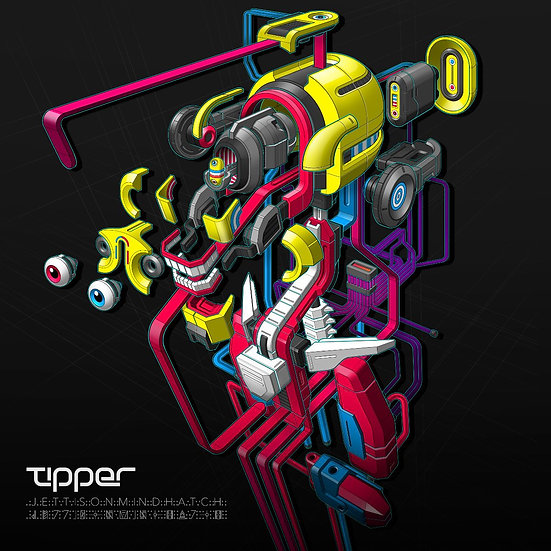 "TIPPER ""JETTISON MIND HATCH""Vinyl LP"