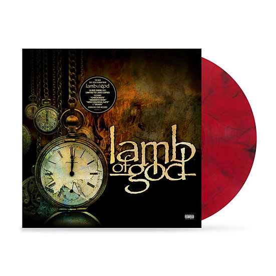 "Lamb of God ""Lamb of God"" CD or LP Indie Exclusive"
