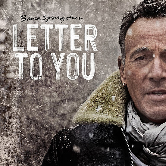 """Bruce Springstein """"Letter To You"""" Indie Exclusive Grey Vinyl"""