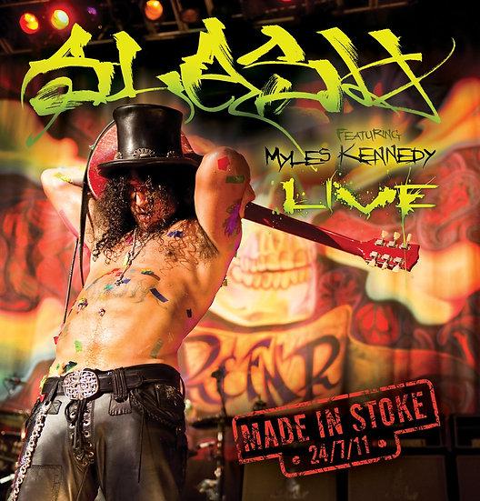 """Slash """"Made In Stoke 24/7/11"""""""