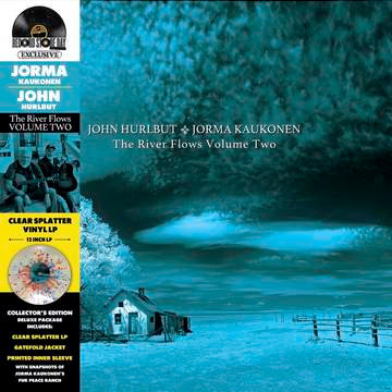 "Jorma Kaukonen & John Hurlburt ""The River Flows Vol. 2"""